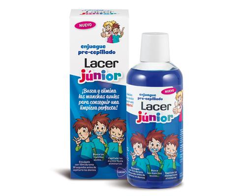 Lacer Junior Enjuague Pre-Cepillado, la ayuda ideal para cepillarse mejor