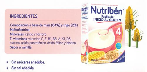 Nutriben Papilla de Inicio al Gluten